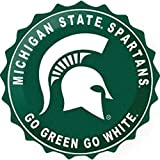 Michigan State University Bottle Top Sign