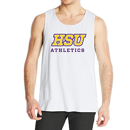 Men's Hardin Simmons University Cowboys Tank Top White