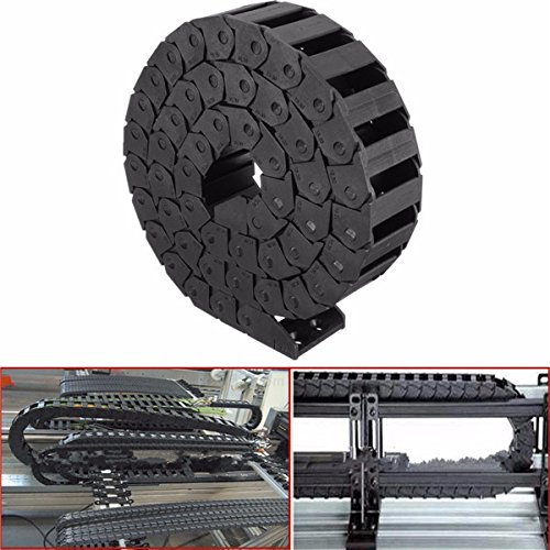 15mm x 30mm Nylon Towline Drag Chain Wire Carrier Engraving Machine Accessory by BephaMart