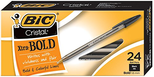BIC Cristal Point 1 6mm 24 Count