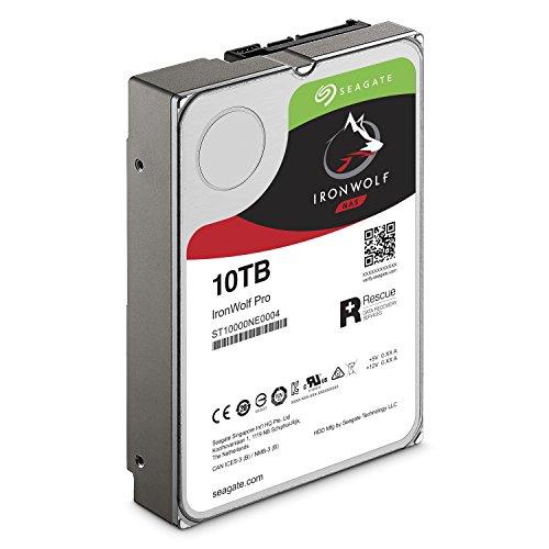 Seagate 10TB IronWolf Pro 7200RPM SATA 6Gb/s 256MB Cache 3.5-Inch NAS Hard Disk Drive (ST10000NE0004) by Seagate (Image #2)