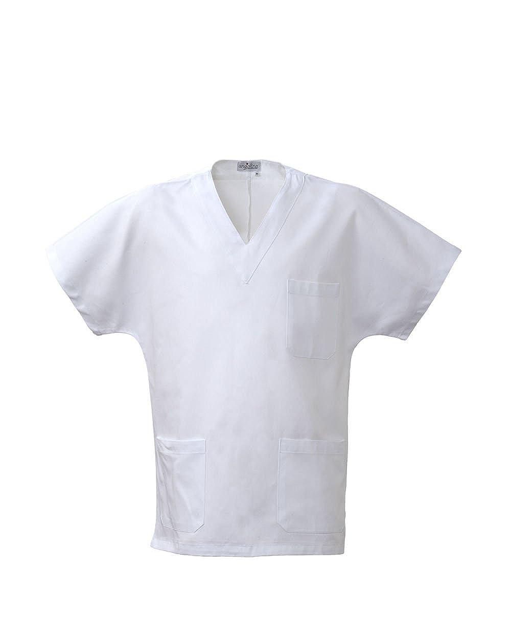 Pantalone Medico Uomo Donna Ospedale Infermiere Dentista Bianco Angiolina