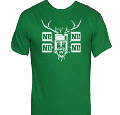 b7b5fad8e57 Amazon.com  Delta The Knights Who Say Ni T-Shirt-Funny Monty Python Shirt-XL-Navy  Blue  Clothing