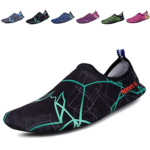 CIOR Mens Dry Women Water P1 Shoes Swimming Sports Quick Aqua green Socks rO6rnWq4