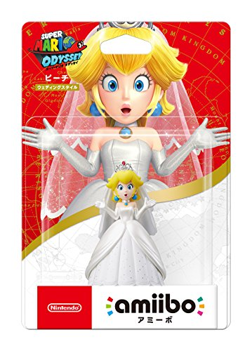 amiibo Peach Wedding Style (Super Mario Series) Japan Ver.