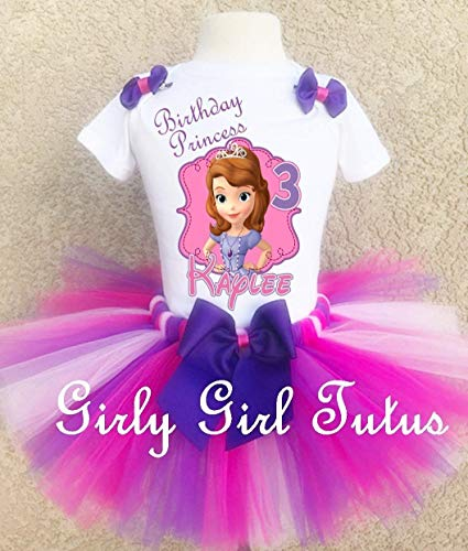 Sofia the 1st Princess Custom Birthday Outfit Set ()
