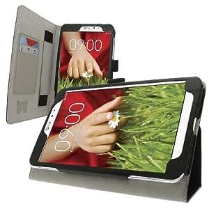 Carcasa Celicious con soporte multi-posición de la tarjeta titular y un bolígrafo para LG G Pad 8.3