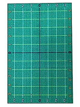 StrideRightMats AlignRight Golf Turf Training Mat 3 x 5