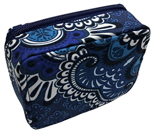 Box Tapestry - Vera Bradley Travel Pill Case (Blue Tapestry)