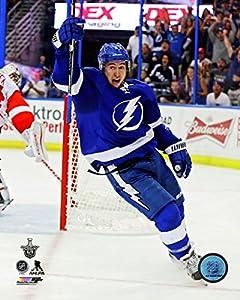 "Tyler Johnson Tampa Bay Lightning 2015 NHL Playoff Photo RZ097 (Size: 8"" x 10"")"