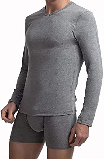 Sesto Senso Camiseta T/érmica Manga Larga Hombre Ropa Interior