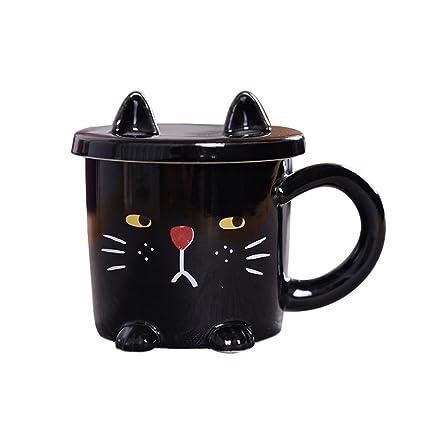 amazon com meowday cute cat mug funny ceramic coffee mug novelty
