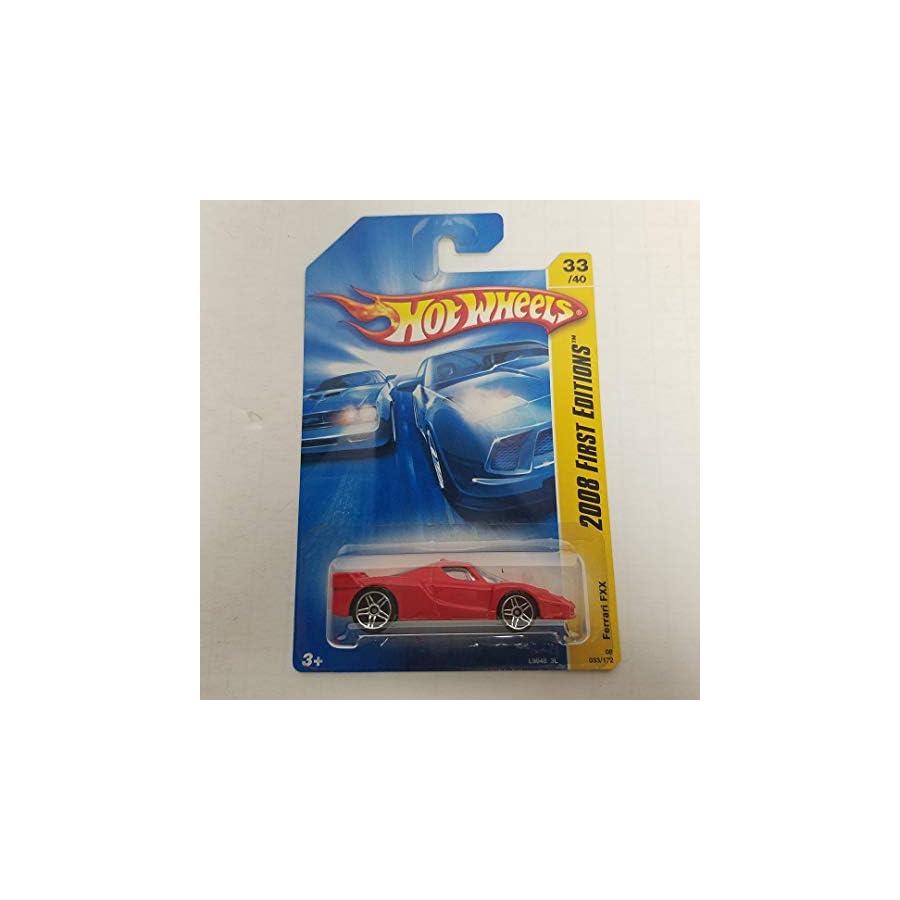 Red Ferrari FXX 2008 Hot Wheels New Models 33 of 40 No. 033
