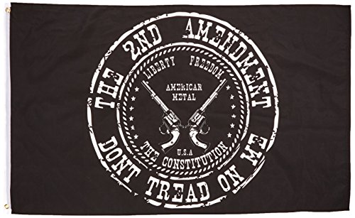Don't Tread on the Second Amendment Flag, 3'x5' Gadsden 2nd