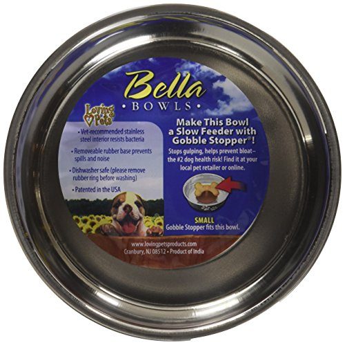 Image of Loving Pets Metallic Bella Bowl, Small, Copper