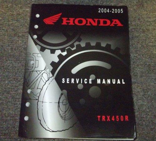 2004 2005 Honda TRX450R TRX 450 R Service Shop Repair Manual ...