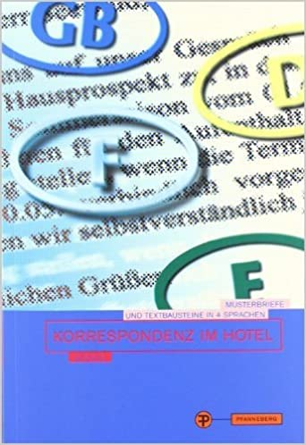 Korrespondenz Im Hotel Musterbriefe Und Bausteine Von Claudia