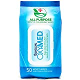 COSMOS Tropiclean 50 Count OxyMed All Purpose Wipes Itch Remedy