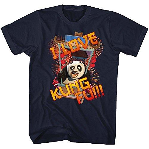 American Classics Kung Fu Panda T Shirt ILKFU Adult Short Sleeve XL