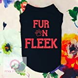 Fur On Fleek Dog Shirt