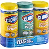 Clorox Wet Wipes Lemon Fresh & Fresh Scent - 3 CT