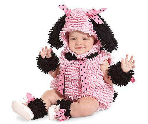Princess Paradise Baby Girls' Pinkie Poodle Deluxe Costume, Pink, 18M/2T -