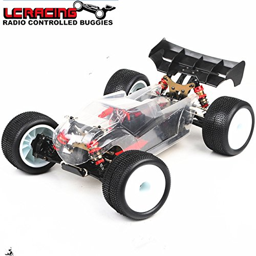 Toy, Play, Game, LC RACING 1:14 EMB Brushless motor Off Road 4WD RC Car Truggy Chassis RTR assembled Professional control toys best gift Grownups, Kids, Children