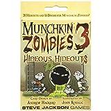 Steve Jackson Games Munchkin Zombies 3 Hideous Hideouts