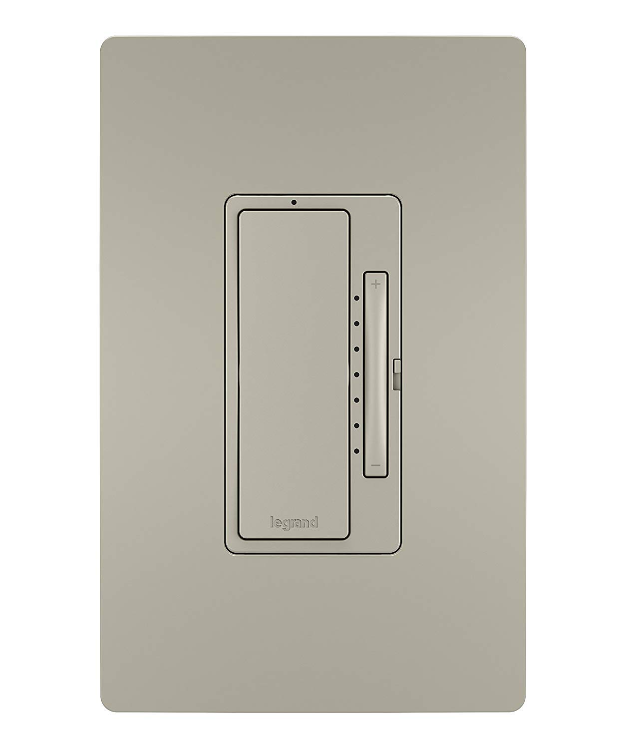 Pass & Seymour Legrand Radiant WWRL50NICCV2 Tru-Universal Enabled Dimmer, Nickel Smart Wi-Fi Switch by Pass & Seymour