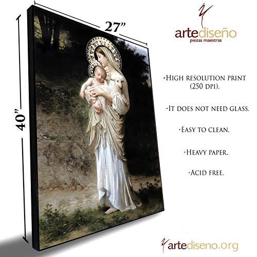 Decorating Wall Art - Artediseño piezas maestras Innocence Virgin Mary (27