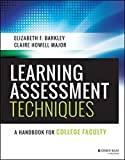 Learning Assessment Techniques 1st Edition