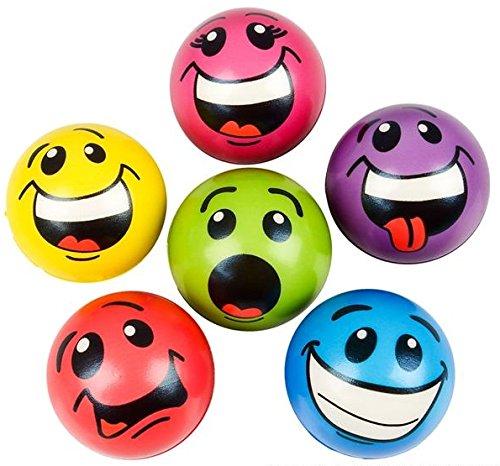 Emoji Colorful Funny Stress Balls