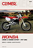 Honda Cr80r, Cr80rb Expert, 1997-2002, Clymer Publications Staff and Tim Bergland, 0892877804