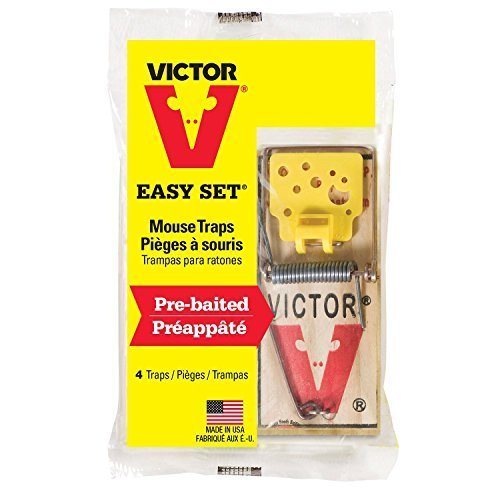 Victor Easy Set Mouse Traps (Pack of 12) ()