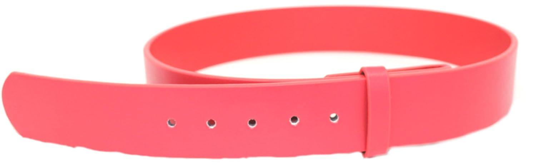 Deal Fashionista Mens Plain Leather Strap Snap On Belt