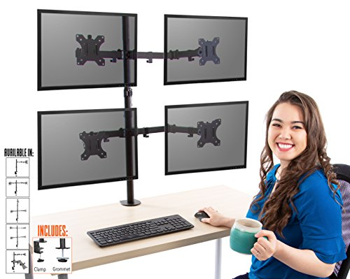 Stand Steady 4 Monitor Desk Mount Stand | Height Adjustable for sale  Delivered anywhere in USA