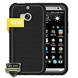 HTC Body Glove ShockSuit Case Black for HTC One M8