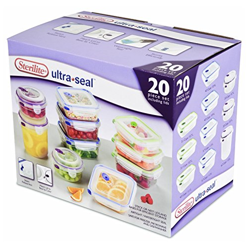 Sterilite Ultra Seal Plastic Stacking Container