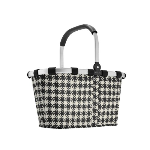 Carry Bag - Reisenthel Collapsible Bag or Market Basket Fifties (Houndstooth) (Reisenthel Collapsible)