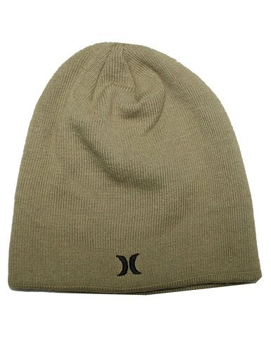 Hurley Unisex Double-Layer Ski & Skate Knit Beanie / Winter Hat