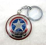 Anime Avengers Model - Captain America Keychains