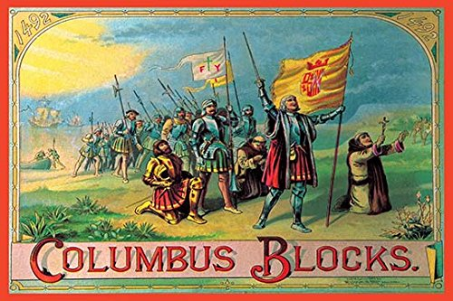 Buyenlarge Columus Blocks - Gallery Wrapped 28