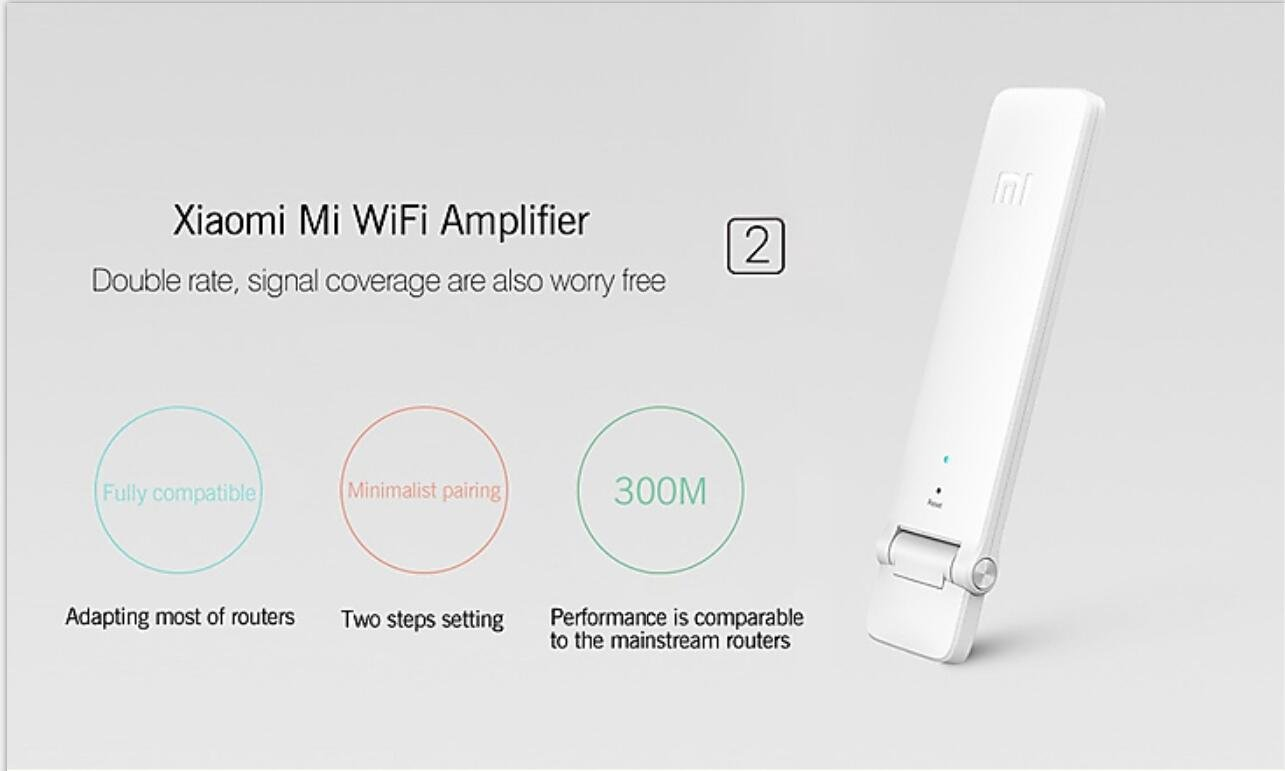 Xiaomi Mi WiFi 300M Amplifier 2 Wireless Network Device Mijia Smart App English Version by Xiaomi (Image #6)