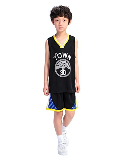 DEBND Bebe Ropa de Baloncesto NBA Warriors 30# Curry ...