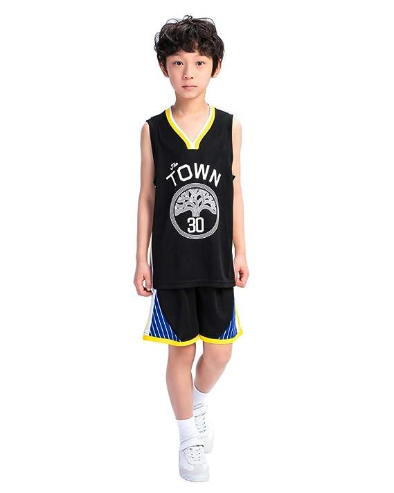 DEBND Bebe Ropa de Baloncesto NBA Warriors 30# Curry Pantalones ...