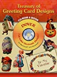 Treasury of Greeting Card Designs CD-ROM and Book (Dover Electronic Clip Art)