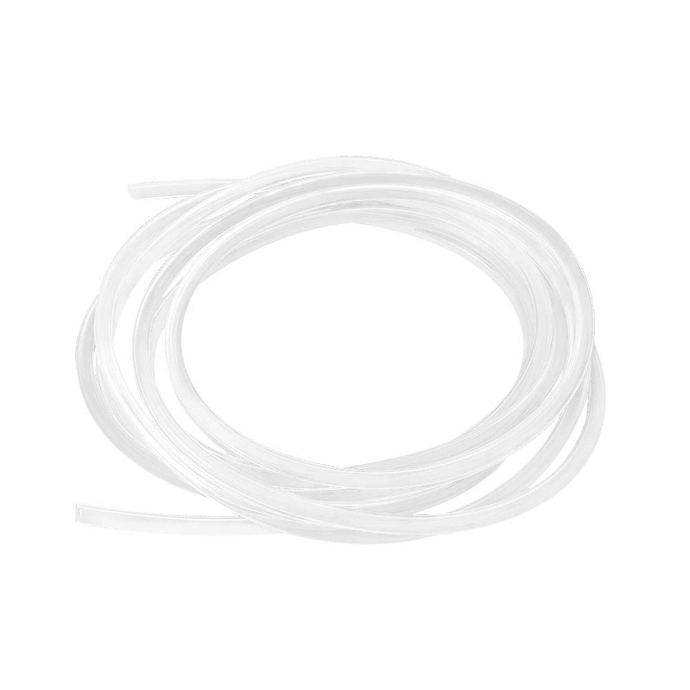Hooshing Silicone Tubing 8mm ID x 12mm OD 20 Ft Food Grade Flexible Pure Silicone Rubber Tubing Hose High Temp for Home Brewing Winemaking Pump Transfer