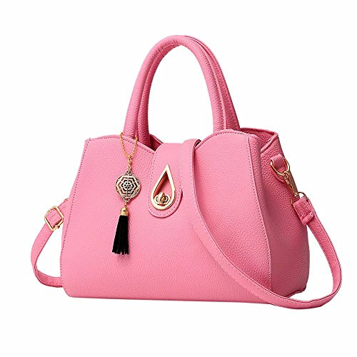 Bowknot Tote Leather Work Classic Body Capacity Handbags Women Large Bags Bags Designer Zerototens Travel For Satchels Shoulder Cross Handbag Girls Ladies Tote For For Pink Classic RwPAqxOY