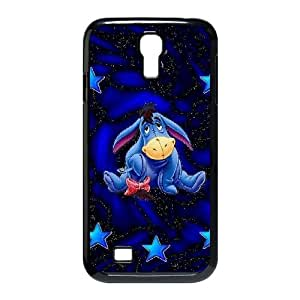 Glitter Eeyore funda Samsung Galaxy S4 9500 caso del teléfono celular funda D0H4NLMYNZ negro