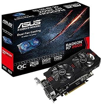 Amazon.com: ASUS Radeon R7 260 X Tarjeta Gráfica – 1075 MHz ...